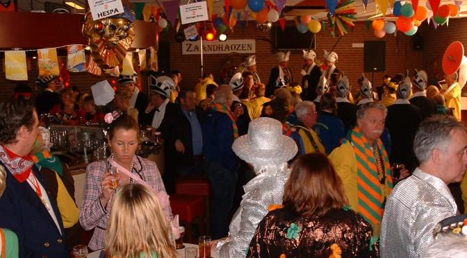 Carnaval bij Sc 't Zand