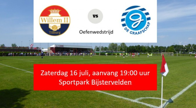 Willem II oefent op ons complex