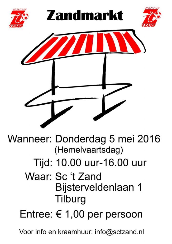 Zandmarkt Poster 2016 klein