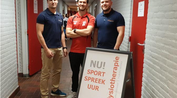 Samenwerking Sc 't Zand en Fysiotherapie Tilburg Reeshof