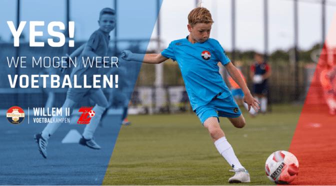 Willem II voetbalkampen bij Sc 't Zand